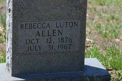 Rebecca <i>Luton</i> Allen