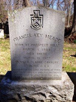 Pvt Francis Key Meade, Sr