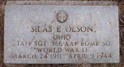 Sgt Silas E. Olson