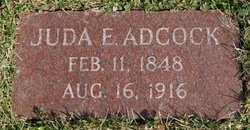 Juda Elizabeth <i>Alderman</i> Adcock
