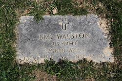 Leo M Walston