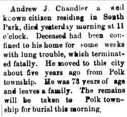 Andrew Jackson Chandler