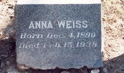Anna <i>Fricke</i> Weiss