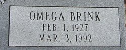 Mrs Omega Joy <i>Brink</i> Gray