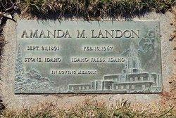 Amanda M <i>Sorensen</i> Landon