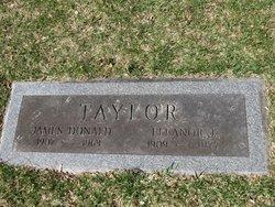 Eleanor Gertrude <i>Bicknell</i> Taylor