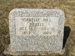 Isabelle <i>Hill</i> Atwell