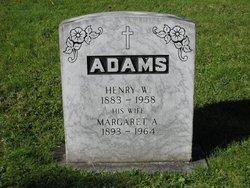 Margaret Amelia Maggie <i>Keddy</i> Adams