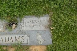 Arizona H Adams