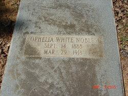Ophelia Mary <i>White</i> Nobles