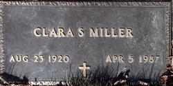 Clara S <i>Sells</i> Miller