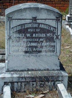 Addie <i>Thomson</i> Andrews
