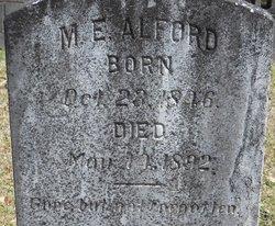 Malcolm E Alford