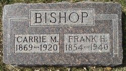 Carrie Maude <i>Ives</i> Bishop