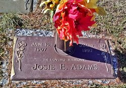 Josie <i>Armstrong</i> Adams