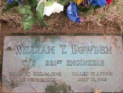 William T Bowden