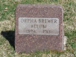 Orpha <i>Brewer</i> Allum