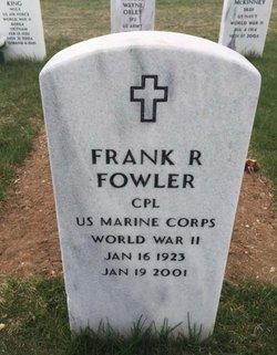 Frank R Fowler