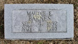 Maudie E. <i>Warren</i> Barnes