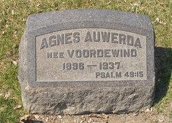 Agnes <i>Voordewind</i> Auwerda