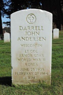 LTC Darrell John Andersen