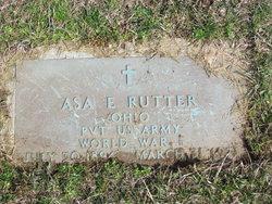 Asa E. Rutter