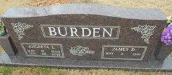 Angeeta L. Angie <i>Anderson</i> Burden