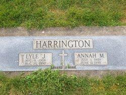 Annah M Harrington