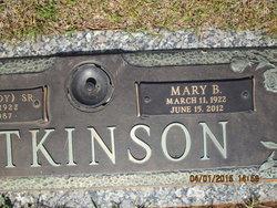 Mary <i>Burel</i> Atkinson
