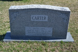 Patsy Ann Carter
