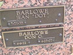 Donald G Don Barlowe