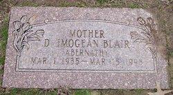 Doris Imogene <i>Blair Mathis</i> Abernathy