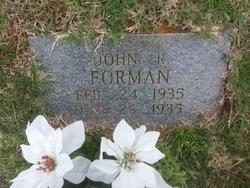 John Robert Forman