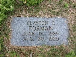 Clayton Franklin Forman