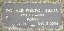 Pvt Donald Welton Biller