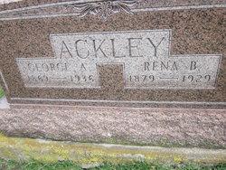 Rena Bell <i>Gunsul</i> Ackley