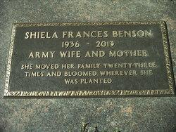 Shiela Frances <i>LaChambre</i> Benson