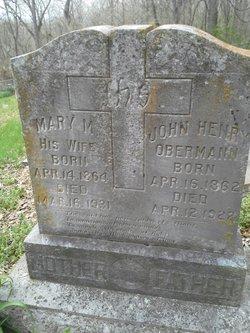 Mary M. <i>Mier</i> Obermann