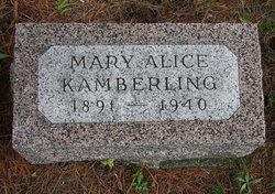 Mary Alice Kamberling