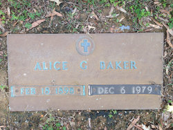 Alice <i>Gilbert</i> Baker