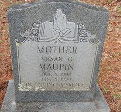 Susan Ann <i>Gross</i> Maupin