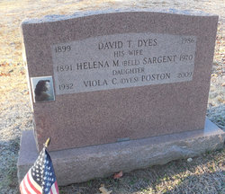 Helena M <i>Sargent</i> Dyes