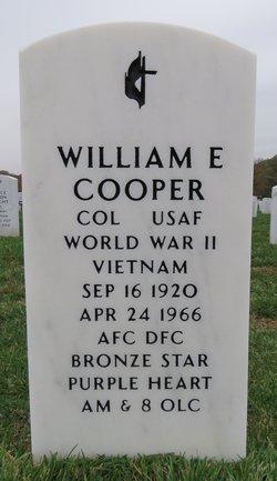 Col William Earl Coop Cooper