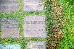 William Henry Bill Lancaster