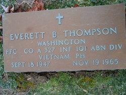 PFC Everett Berl Thompson