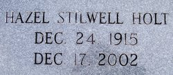 Hazel Stilwell Holt