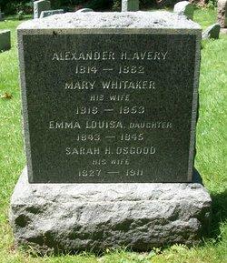 Sarah Hooker <i>Osgood</i> Avery