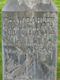 George Washington Bahler