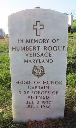 Capt Humbert Roque Rocky Versace