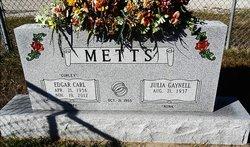 Edgar Carl EC Curley Metts